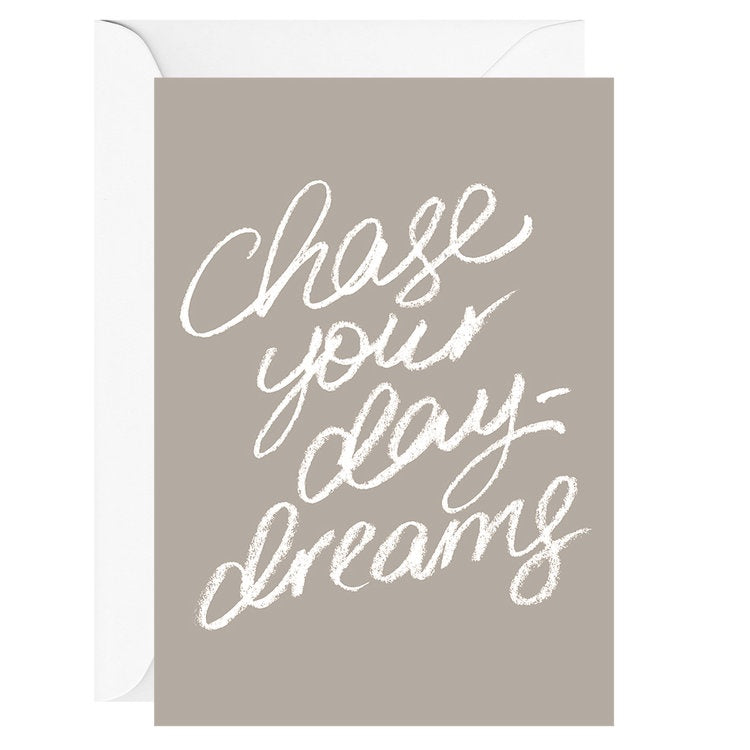 Chase Your Daydreams | Card & Envelope