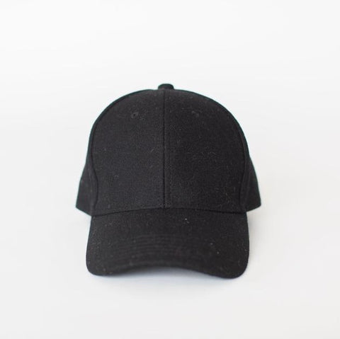 Wool Cap | Black