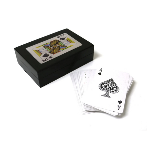 Card Box | With Deck of Cards