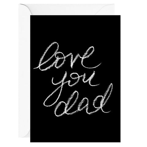 Love You Dad | Card & Envelope