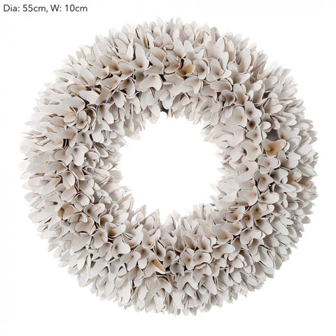 Ruffled Christmas Wreath | Large