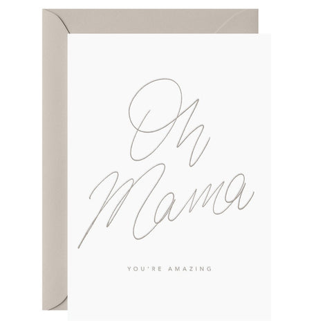 Oh Mama! You're Amazing | Card & Envelope