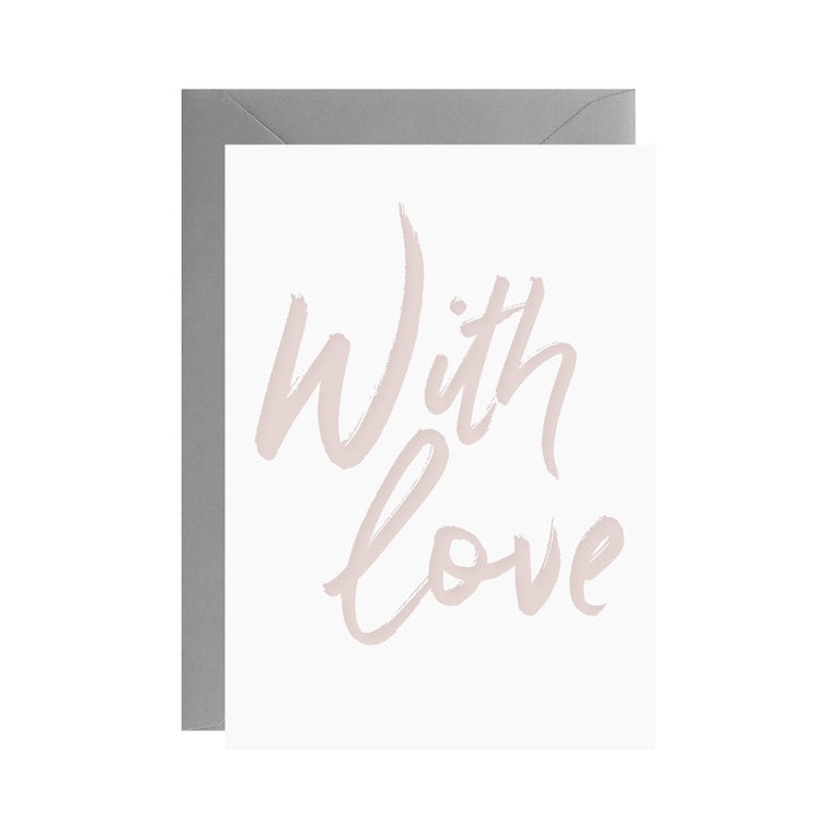 With Love | Mini Card & Envelope