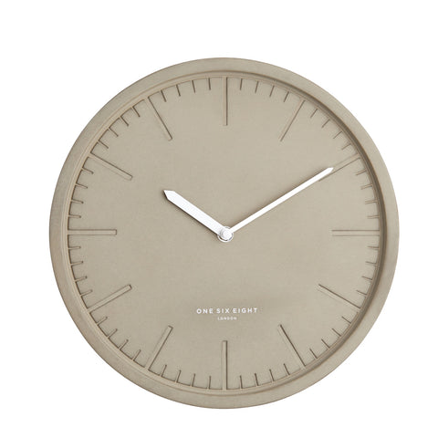 Simone Wall Clock | Light Concrete | 30cm