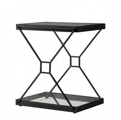 2 Level Drinks Trolley | Glass Shelves