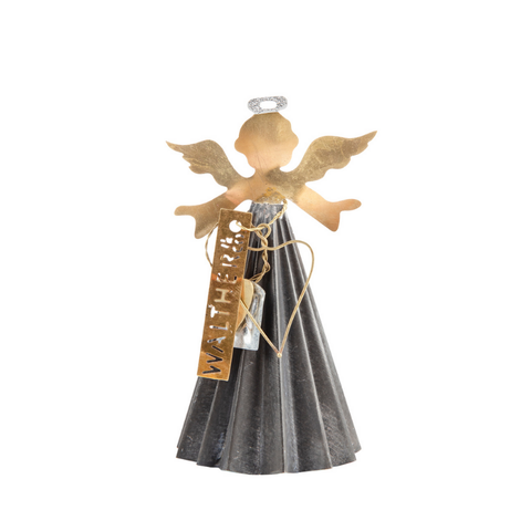 Standing Metal Angel | Large