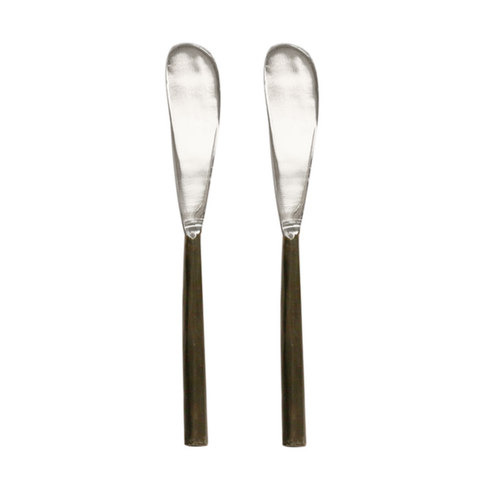 Spreaders | Burnished Black & Stainless Steel