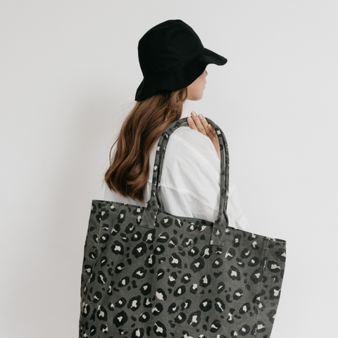 Great Big Canvas Bag | Leopard