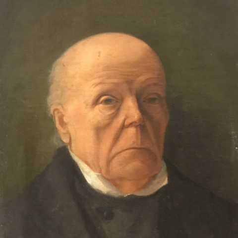 French Portrait/Great Grandfather | Circa 1800