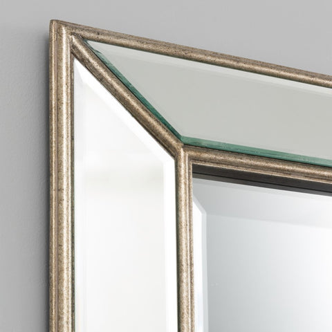 Jarvis Antique Silver Mirror | 90 x 150