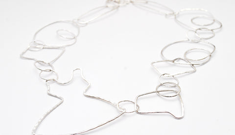 Loop Necklace - Sterling Silver