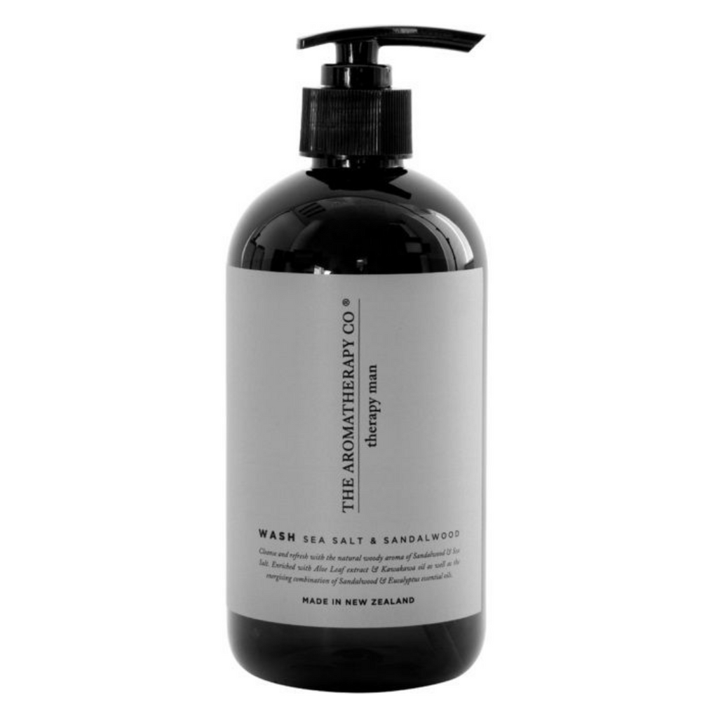 Therapy Man Hand & Body Wash | Sea Salt Sandalwood