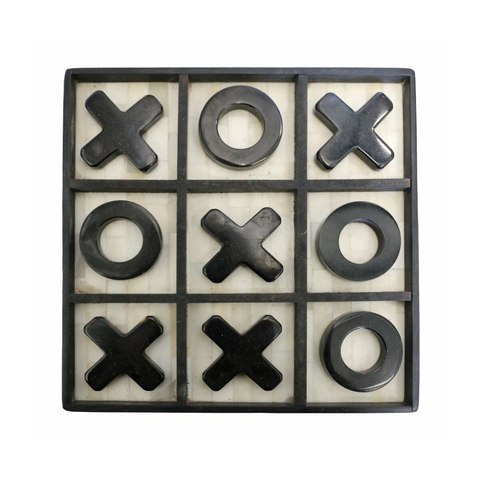 Noughts and Crosses Bone Set