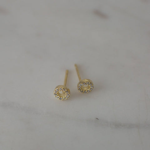 Sparkle Oh Earrings | 14k Gold Plate