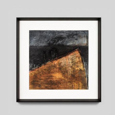 Sans Titre Abstract Framed Print