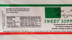 Sweet Soppressata - Large Box