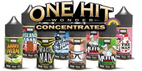 one hit wonder concentrates banner
