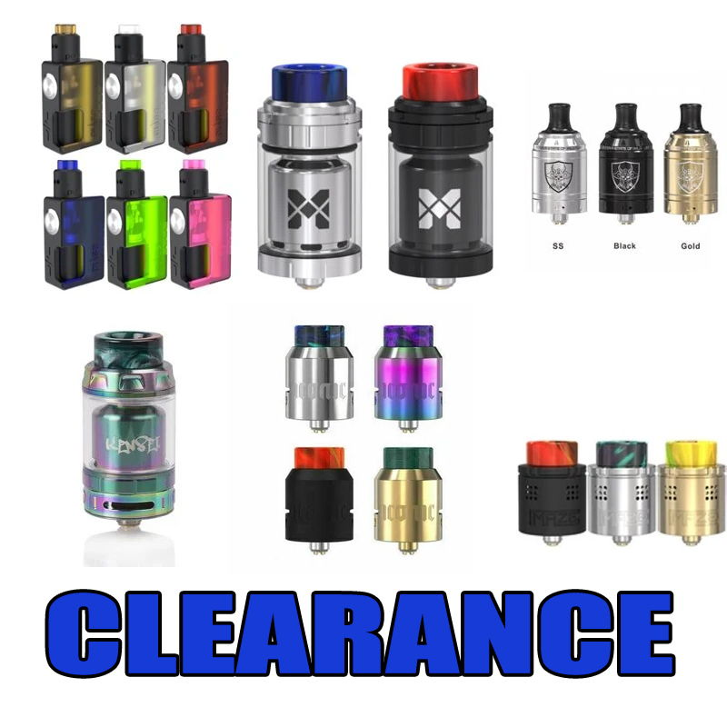 CHEAP HARDWARE MIX OF TANKS AND SQUONK KITS