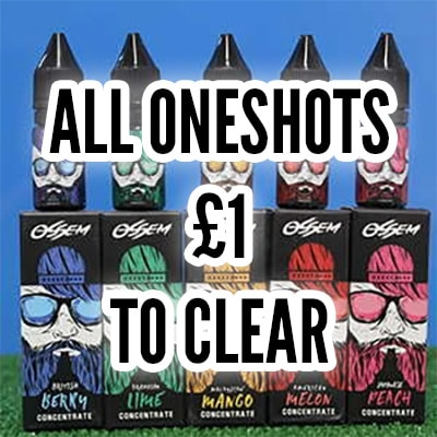 oneshots clearance lot to clear