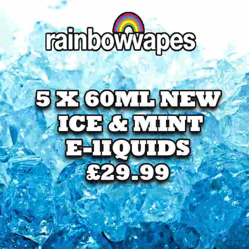 5x60ml mint eliquids by rainbowvapes