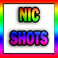 nicotine shots in colourful letters