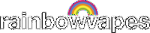Rainbowvapes logo for front page