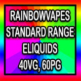rainbowvapes standard range of eliquids