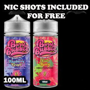 Burst My Bubble E Liquids 100ml Shortfill Burst My Bubble