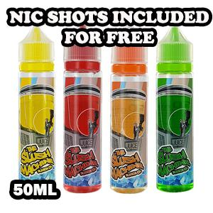 The Slush Machine E-liquids 50ml shortfill The Slush Machine