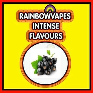 Black Currant Rainbowvapes Intense Flavours rainbowvapes