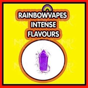Grape Slush Rainbowvapes Intense Flavours rainbowvapes