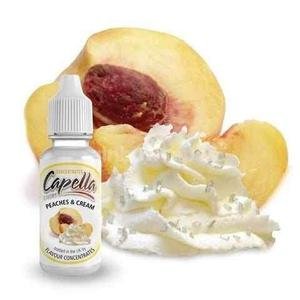 Peaches and Cream Capella flavour concentrate - rainbowvapes