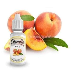 peach Flavoured Capella Liquid concentrate - rainbowvapes