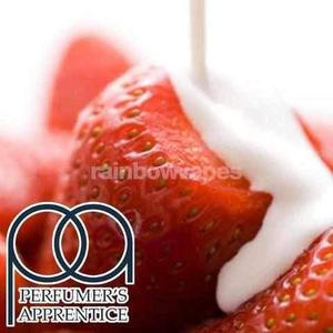 Strawberries and Cream Flavoured Flavour Apprentice Liquid concentrate - rainbowvapes