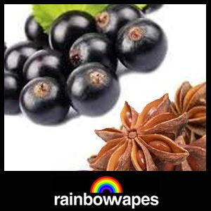 blackcurrant aniseed eliquid by rainbowvapes