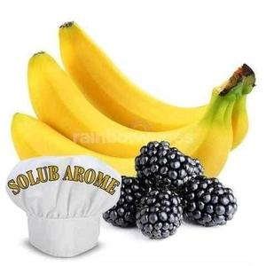 banana and blackberry Solub Arome flavour concentrate - rainbowvapes