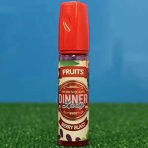 Berry Blast E Liquid by Dinner Lady 50ml Shortfill