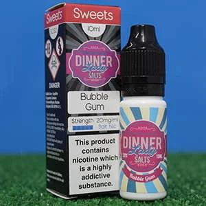 Dinner Lady Bubblegum Salt E-Liquid , 10ml, 20mg