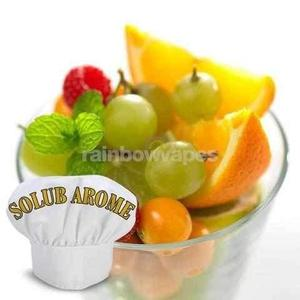 fruit cocktail Solub Arome flavour concentrate : cocktail de fruits - rainbowvapes
