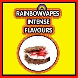 Chocolate Strawberry Biscuit Rainbowvapes Intense Flavours rainbowvapes
