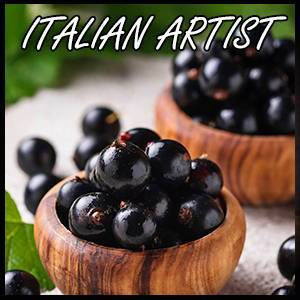 Blackcurrant Flavour Concentrate by Italian Artist