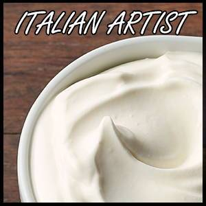 Fresh Cream Flavour Concentrate by Italian Artist