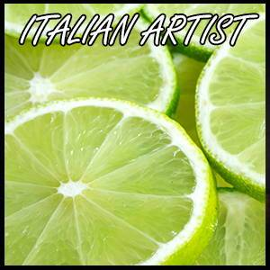 Lime Tahity (cold pressed) Flavour Concentrate by Italian Artist