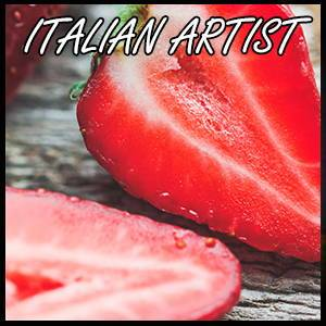 Red Touch Strawberry Flavour Concentrate by Italian Artist