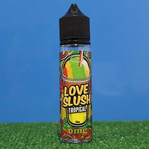 Tropical Eliquid by Love Slush 50ml shortfill