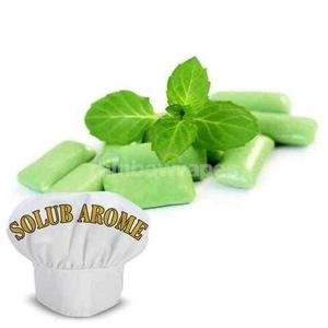 chewing gum mint Solub Arome flavour concentrate Solub Arome