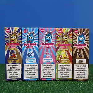 slushie range Slushie, Sweetie & Gumball E Liquid Salts By Slushie 10ml 20mg