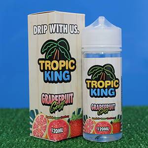 Tropic King E Liquids 100ml Shortfill grapefruit cooler