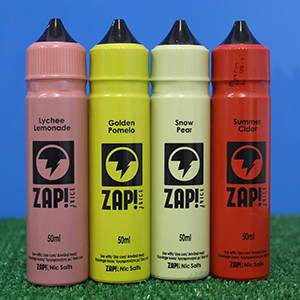 Zap Eliquid 50ml Shortfill 4 of the range