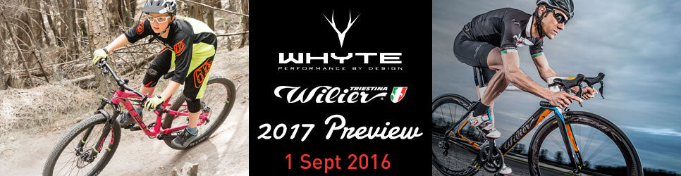 Whyte & Wilier Preview